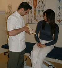 What happens on your first visit to an Osteopath?